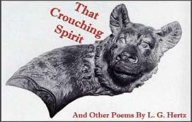 That Crouching Spiriti and Other Poems