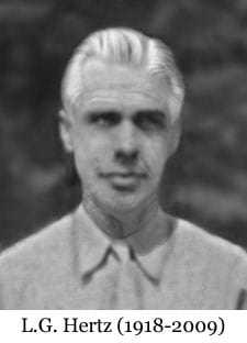 Poet L. G. Hertz